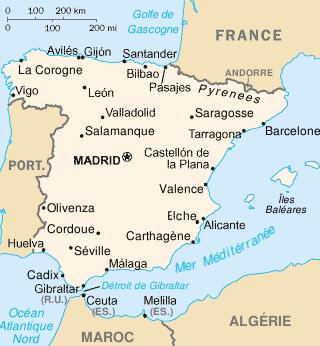 Le gouvernement espagnol